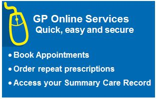 GP Online Services - Quick, easy and secure